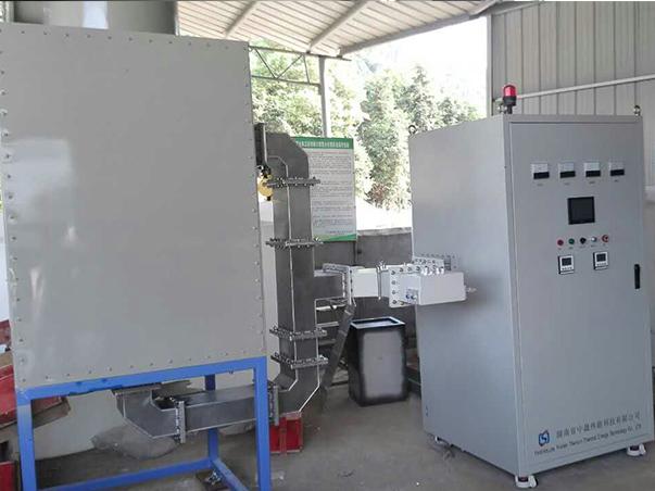 连续式微波污水实验处理装置